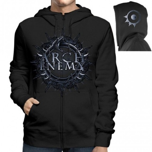 Arch Enemy | Skull Bat - Hooded Sweat Shirt Zip - Death