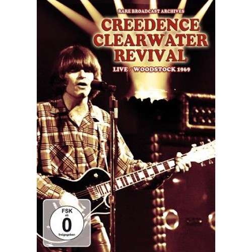 Creedence Clearwater Revival | Live Woodstock 1969 - DVD - Rock
