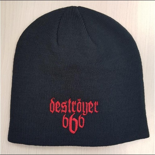 49ad7ddbd Deströyer 666 | Logo - Beanie Hat - Black Metal | Season of Mist