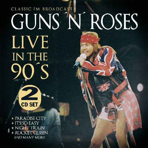 Guns N' Roses | Live In The 90s - DOUBLE CD - Rock / Hard