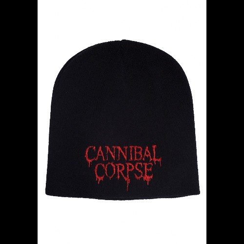 Cannibal Corpse Beanie Hat Classic Original Band Logo Official Black One Size