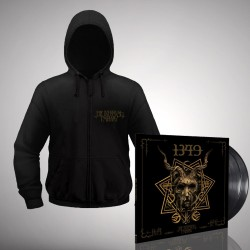 1349 - Bundle 9 - Double LP gatefold + Zip hoodie bundle (Men)
