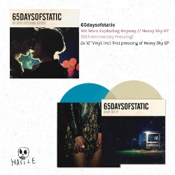 65daysofstatic - We Were Exploding Anyway - Heavy Sky EP - DOUBLE LP COLOURED