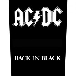 AC/DC - Back In Black - BACKPATCH