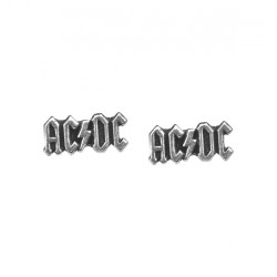 AC/DC - Logo - STUD EARRINGS