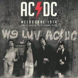 AC/DC - Melbourne 1974 And The Best Of The TV Shows 76-78 - DOUBLE LP GATEFOLD COLOURED