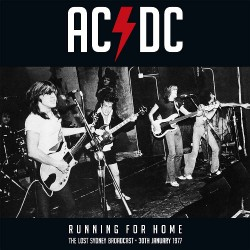 AC/DC - Running For Home - DOUBLE LP GATEFOLD COLOURED