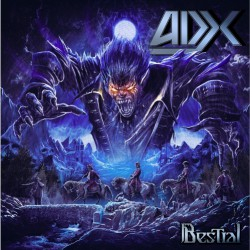 ADX - Bestial - DOUBLE LP GATEFOLD COLOURED