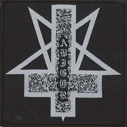 Abigor - Pentagram Cross Logo - Patch