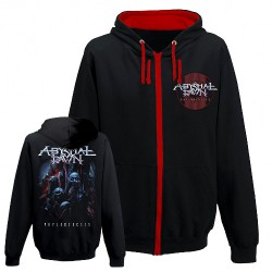 Abysmal Dawn - Faces Of Death - Hooded Sweat Shirt Zip (Men)