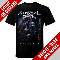 Abysmal Dawn - Faces Of Death - Print on demand