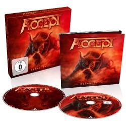 Accept - Blind Rage - CD + BLU-RAY Digipak slipcase