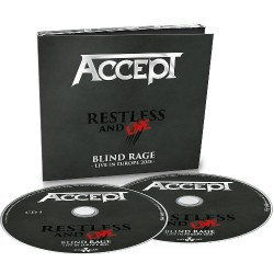 Accept - Restless and Live - 2CD DIGIPAK