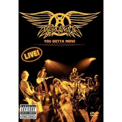Aerosmith - You Gotta Move - DVD + CD