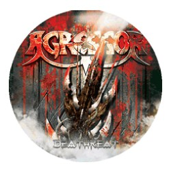 Agressor - Deathreat - Button
