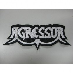 Agressor - Logo - BACKPATCH