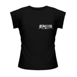 Agressor - Logo pocket - T-shirt (Women)