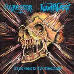 Agressor - Loudblast - Licensed To Thrash - CD DIGIPAK