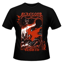 Agressor - Rebirth - T-shirt (Men)