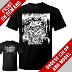 Agressor - The Mercyless Onslaught White - Print on demand