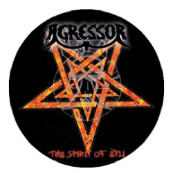 Agressor - The Spirit Of Evil - Button