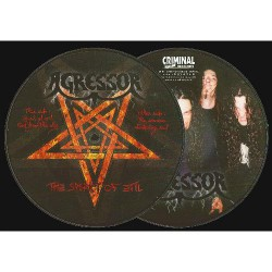 "Agressor - The Spirit Of Evil - Picture 7"" EP"