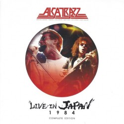 Alcatrazz - Live In Japan 1984 Complete Edition - 2CD + DVD digipak