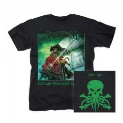 Alestorm - Captain Morgan's Revenge - 10th Anniversary Edition - T-shirt (Men)