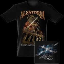 Alestorm - Captain Morgan's Revenge - T-shirt (Men)