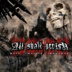 All Shall Perish - Hate.Malice.Revenge - CD