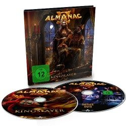Almanac - Kingslayer - CD + DVD digibook