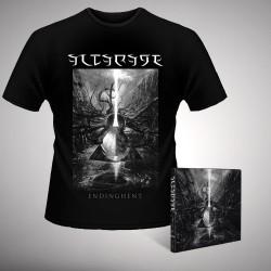 Altarage - Endinghent - CD DIGIPAK + T-shirt bundle (Men)