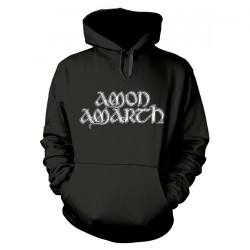 Amon Amarth - Grey Skull - Hooded Sweat Shirt (Men)