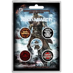 Amon Amarth - Jomsviking - BUTTON BADGE SET