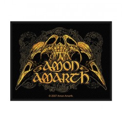 Amon Amarth - Raven Skull - Patch