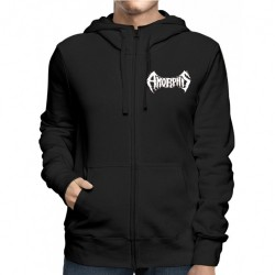 Amorphis - Logo Bear - Hooded Sweat Shirt Zip (Men)