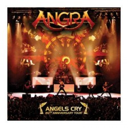 Angra - Angels Cry 20th Anniversary Live - DOUBLE CD
