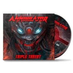 Annihilator - Triple Threat [deluxe] - 2CD + DVD digipak