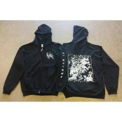 Antediluvian - Fire Pyramid - Hooded Sweat Shirt Zip (Men)