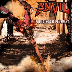 Anvil - Pounding The Pavement - DOUBLE LP GATEFOLD COLOURED + CD