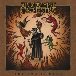 Apocalypse Orchestra - The End Is Nigh - DOUBLE LP GATEFOLD COLOURED