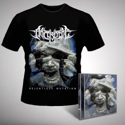 Archspire - Relentless Mutation - CD + T-shirt bundle (Men)