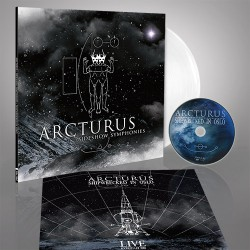 Arcturus - Sideshow Symphonies - LP Gatefold Coloured + DVD