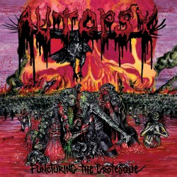 Autopsy - Puncturing The Grotesque - CD EP DIGIPAK