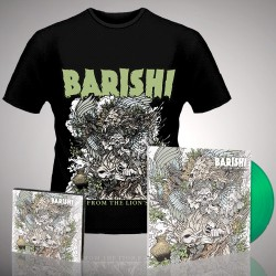 Barishi - Blood From The Lion's Mouth - LP Gatefold Coloured + CD Digipak + T-shirt bundle (Men)