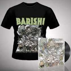 Barishi - Blood From The Lion's Mouth - LP gatefold + T-shirt bundle (Men)