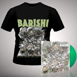 Barishi - Blood From The Lion's Mouth - LP gatefold coloured + T-shirt bundle (Men)