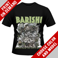 Barishi - Blood From The Lion's Mouth - Print on demand