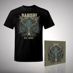 Barishi - Old Smoke - CD DIGIPAK + T-shirt bundle (Men)