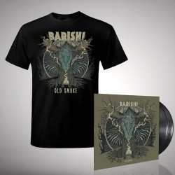 Barishi - Old Smoke - Double LP gatefold + T-shirt bundle (Men)